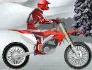 Moto Cross Sur Neige