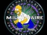 Homer Simpson Millionaire