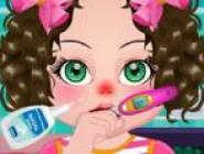 Bébé a la Grippe