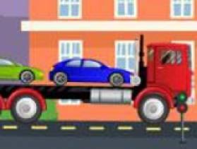 jeu camion transport de voitures gratuit sur. Black Bedroom Furniture Sets. Home Design Ideas