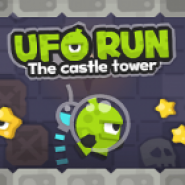 Ufo Run The Castle Tower