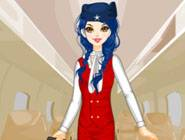 Airline Stewardess Dress Up