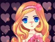 Valentine Princess Dress Up
