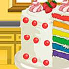 Emma's Recipes: Rainbow Clown Cake
