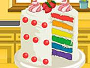 Emma's Recipes: Rainbow Clown Cake