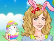 Beauty Easter Girl