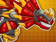 Steel Dino Toy : Mechanic Triceratops