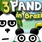 3 Pandas in Brasil
