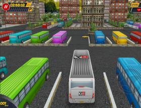 jeu bus parking 3d world gratuit sur. Black Bedroom Furniture Sets. Home Design Ideas