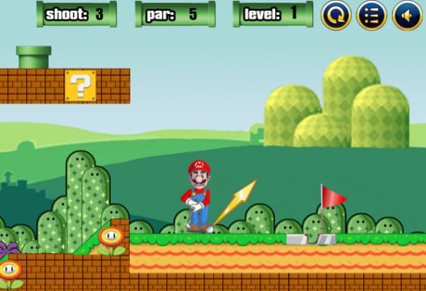 Mario Golf Master
