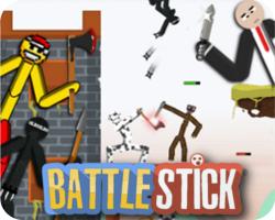 BattleStick: The Stickman Multiplayer Fighting Arena