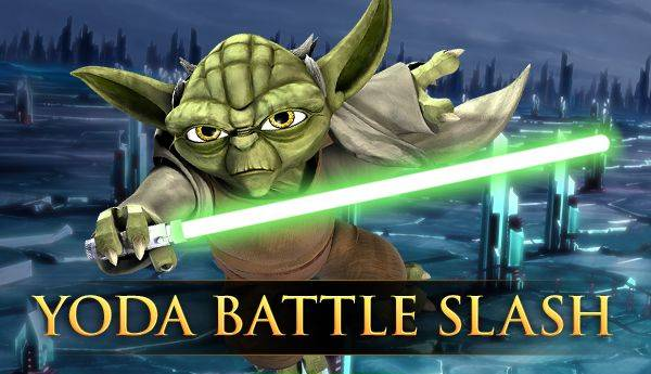 Star Wars : Yoda Battle Slash