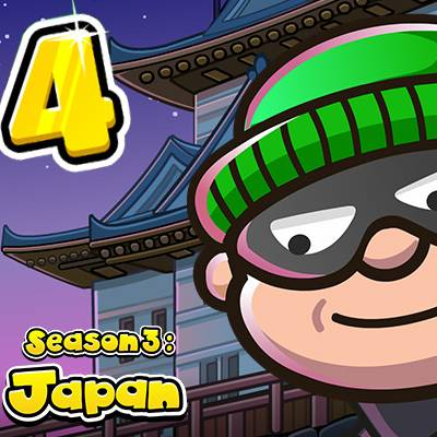 Bob The Robber 4 Season 3 : Japan