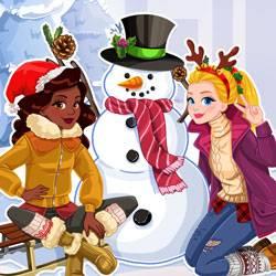 Veux-tu faire un bonhomme de neige ?