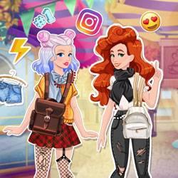 Jessie et Audrey : Aventure sur les réseaux sociaux