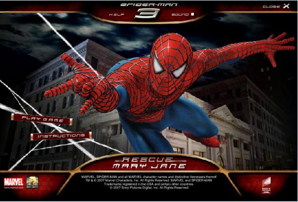 Spiderman à la rescousse