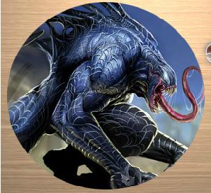 Pic Tart Venom Spiderman