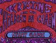 Krystine and the children in chains