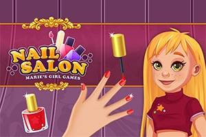 Nail Salon : Marie's Girl Games