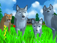 Wolf Simulator Wold Animals 3D