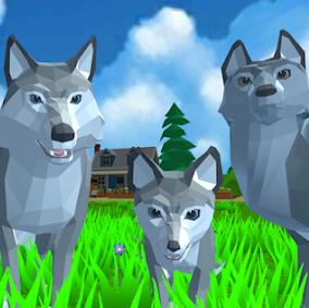 Wolf Simulator Wold Animals 3D