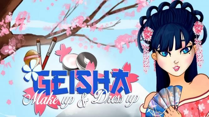 Geisha Make up and Dress up
