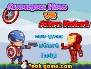 Avengers Hero vs Alien Robot
