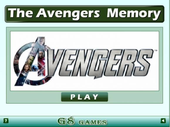 Jeu mémoire Avengers