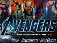 Avengers trouver les différences