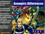 Avengers les différences