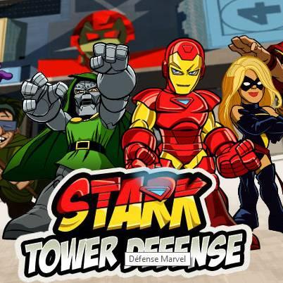 Avengers : Stark tower defense
