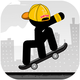 Stickman Skate : 360 Epic City