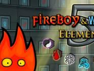 Fireboy et Watergirl 5 éléments