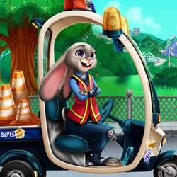Girls Fix It Bunny Car