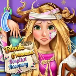 Blonde Princess Hospital Recovery