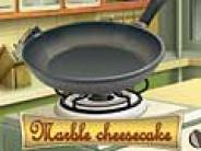 Cooking : marble cheesake