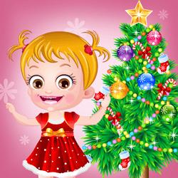 Bébé Hazel Noël Jeux Dhabillage Gratuit