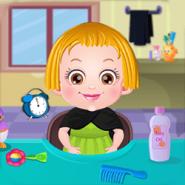 Bébé Hazel Soin des Cheveux
