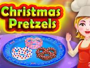 Christmas Pretzels Baby Hazel
