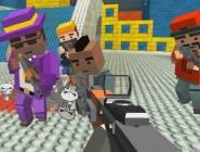 GunGame shooting warfare blocky gangster