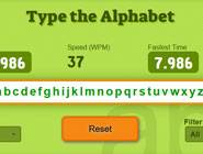 Type the Alphabet