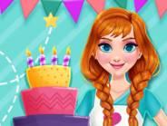 Princess Kitchen Stories Birthday Cake