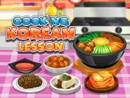 Cooking Korean Lesson