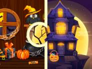 Witch House Halloween Puzzles