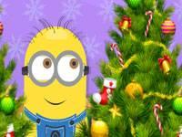 6 diff minion christmas tree