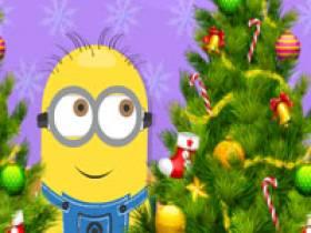 6 diff minion christmas tree - Minion Christmas Tree
