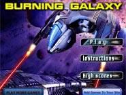 Burning Galaxy