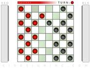 Checkers game