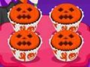Jack o' Lantern Halloween Cupcakes