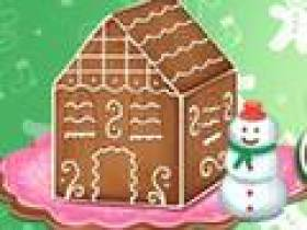 Ellie Gingerbread House Decoration Free Game At